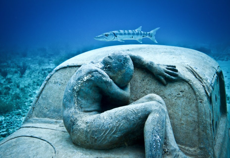 """Anthropocene."" Photograph by Jason deCaires Taylor."