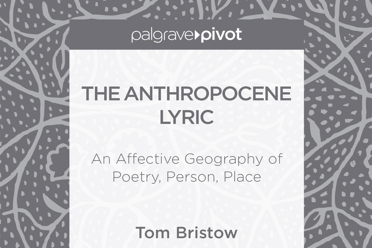 The Anthropocene Lyric